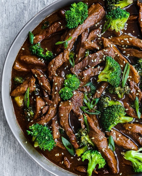 Beef with Oyster Sauce